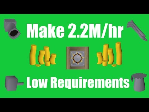 [OSRS] Make 2.2M/hr with Low Requirements - Oldschool Runescape Money Making Method!