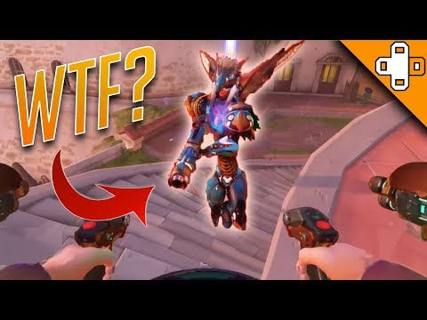 PHARAH *BREAKS HER BACK* Overwatch Funny & Epic Moments 467