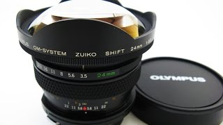 OLMPUS  OM-SYSTEM ZUIKO SHIFT 24mmf3.5