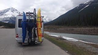 RV Vertical Kayak / Bike Rack