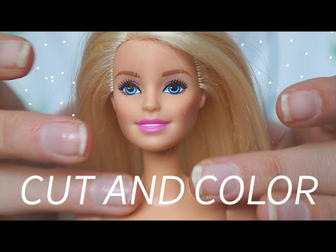 ASMR A Cut and Color (REAL)
