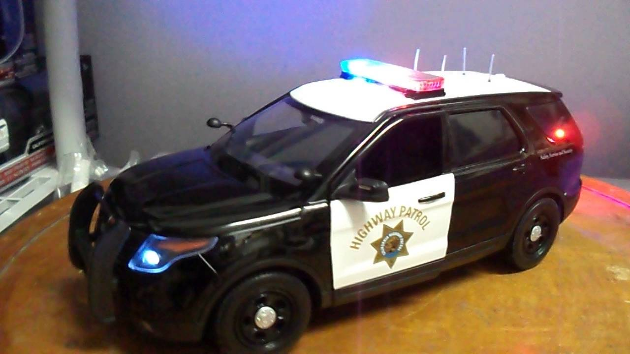 New 2016 California Highway Patrol Ford Pi Explorer Police