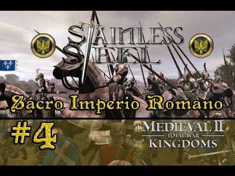 Stainless Steel - M2: TW【#4】CONQUISTA DE MILÁN Y TRAGEDIA | Sacro Imperio Romano from YouTube · Duration:  26 minutes 14 seconds
