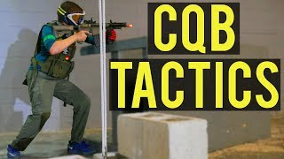 Airsoft CQB Tactics | Extreme Airsoft Rhode Island Crazy 8 Event (VFC Avalon CQB Saber AEG)