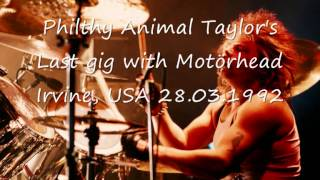 Motörhead - No Voices In The Sky (Philthy Animal Taylor