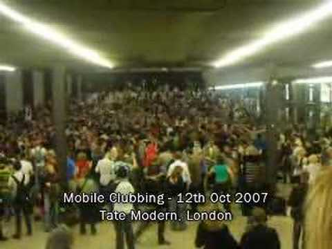 Mobile Clubbing at Tate Modern - Turbine Hall
