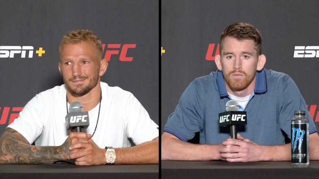 Диллашоу vs Сэндхаген - Пресс конференция перед UFC Вегас 32