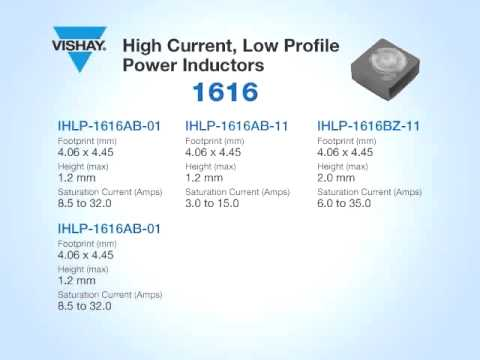 Inductors: IHLP® Power Inductor Family Overview