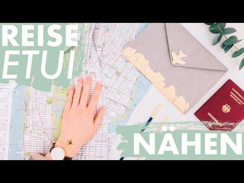 Reise Organizer nähen   + kostenloses Schnittmuster   DIY