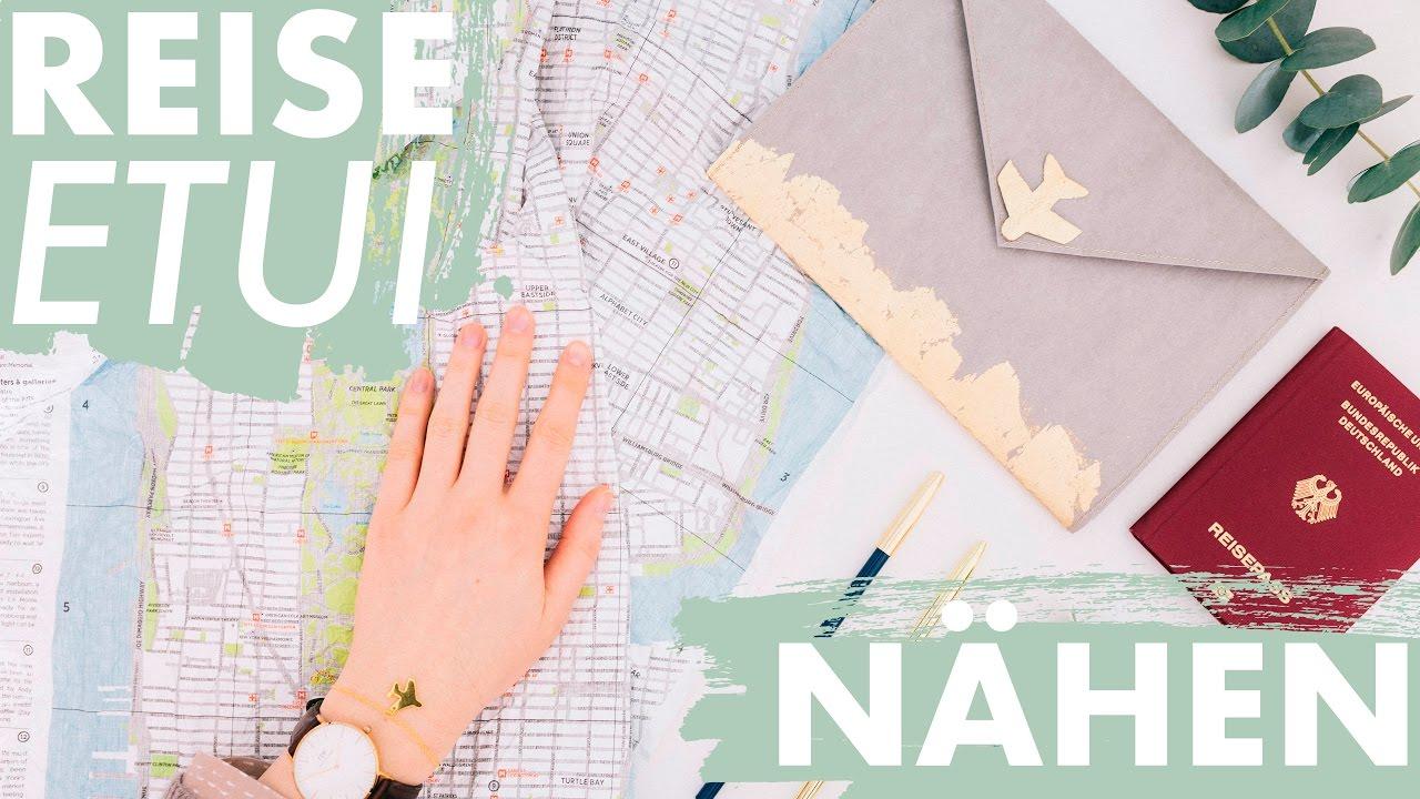 Reise Organizer nähen | + kostenloses Schnittmuster | DIY - YouTube