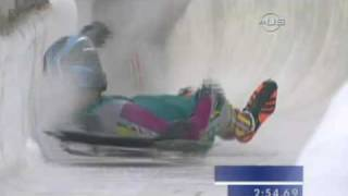 Bobsleigh and Skeleton a history of crashing - from Universal Sports