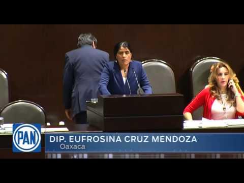 Dip Eufrosina Cruz Mendoza intervención 22 04 2015 streaming vf
