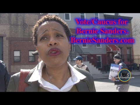 JS: Haitian-American Black woman talks about why she supports Bernie Sanders.