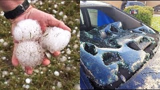 10 BIGGEST Hailstorms on Record