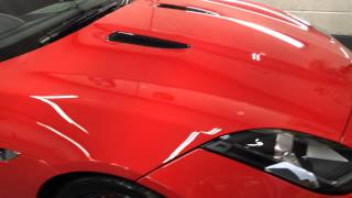 Jaguar F type detailed by pristine machine scotland
