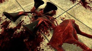 NEW BLOOD SIREN HEAD TORTURE!! Garry's Mod [Siren Head Trevor Henderson] Gameplay