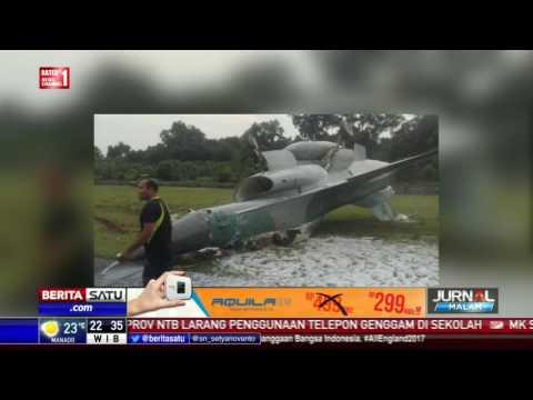 Pesawat F-16 Milik TNI AU Tergelincir di Pekanbaru