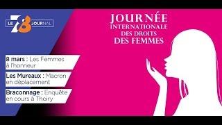 7/8 Le journal – mercredi 8 mars 2017