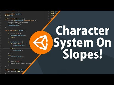Unity3D Character System On Slopes!