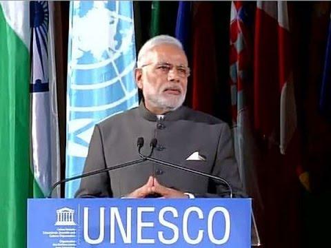 Narendra Modi Speech at UNESCO in France