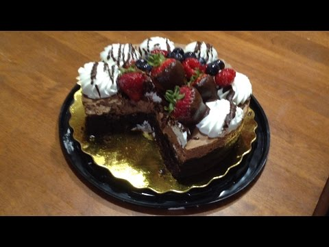 Review: Safeway chocolate mousse cake