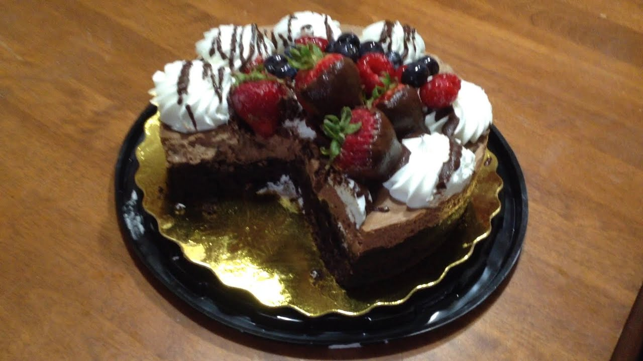 Review Safeway Chocolate Mousse Cake Youtube