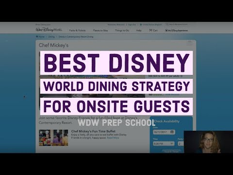 f4d82529c How to snag hard-to-get Disney World dining reservations