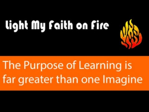 The Purpose of Learning the holy Torah is far greater then one can Imagine