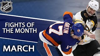 Gambar cover Best NHL fights of March 2019   NHL   NBC Sports