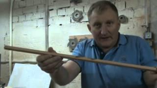 Изготовление шкантов и заготовок для стрел
