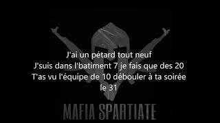 Mafia Spartiate : La Maf | Parole / Lyrics