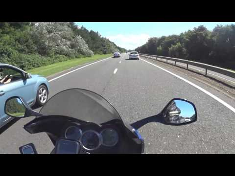 52 Scottish Highlands Motorcycle Trip - Ardrossan (A78) to Ayr Travelodge (Highfield Drive)