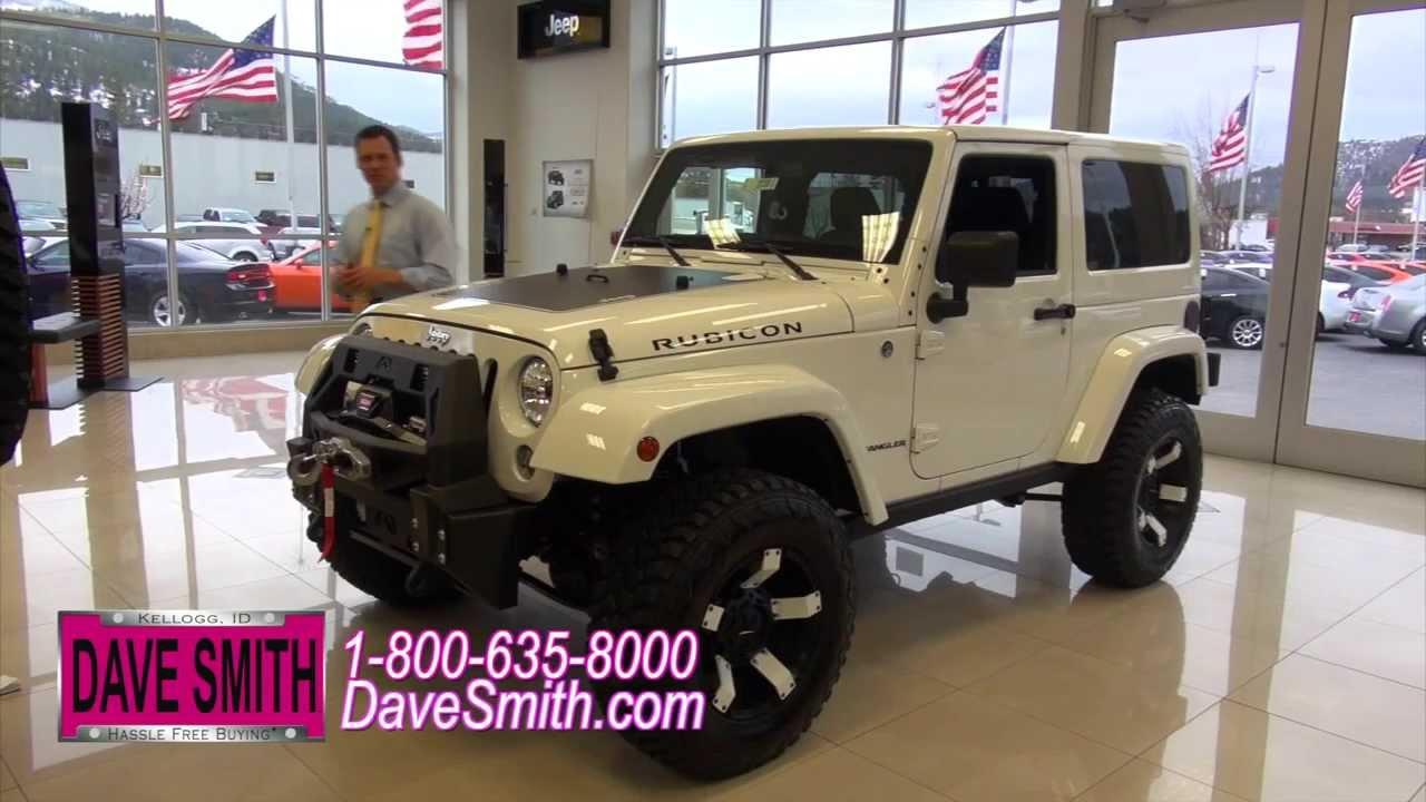 Custom 2014 jeep wrangler rubicon at dave smith motors for Dave smith motors jeep