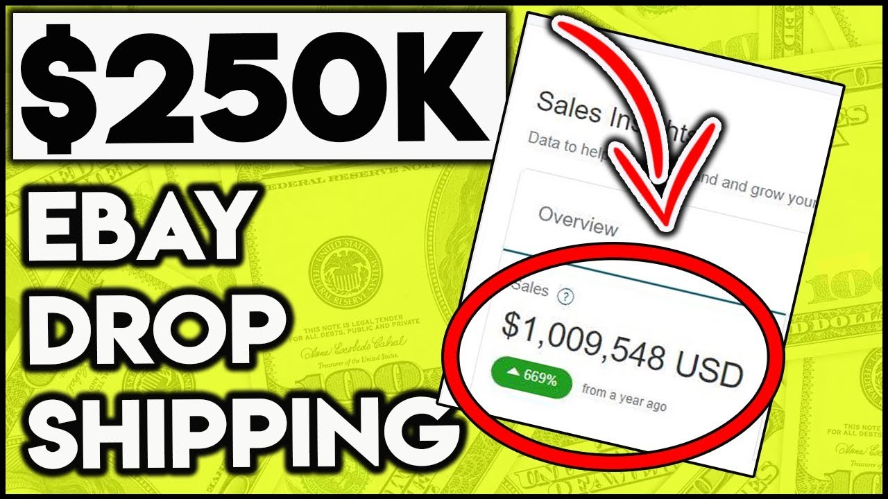 How To Dropship On Ebay For Beginners Step By Step 2019 ($250,000 Profit)