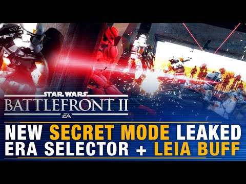 Battlefront Update | New SECRET MODE Leaked + Era Selector Release Date + Leia BUFF Incoming