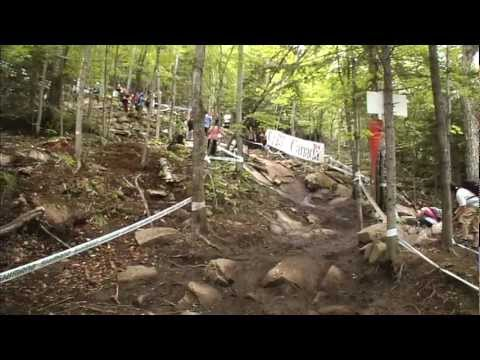26min Highlight Show @ UCI MTB WORLD CUP 2011 - Mont-Sainte-Anne - 4X/ DHI