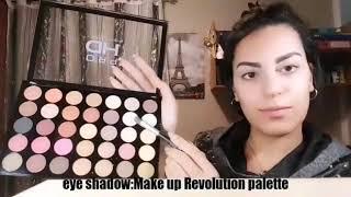 Make up tutorial by Sucaina Beauty