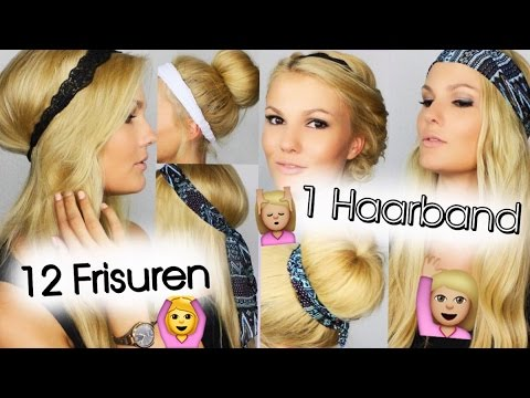1 haarband 12 frisuren sathairday youtube. Black Bedroom Furniture Sets. Home Design Ideas