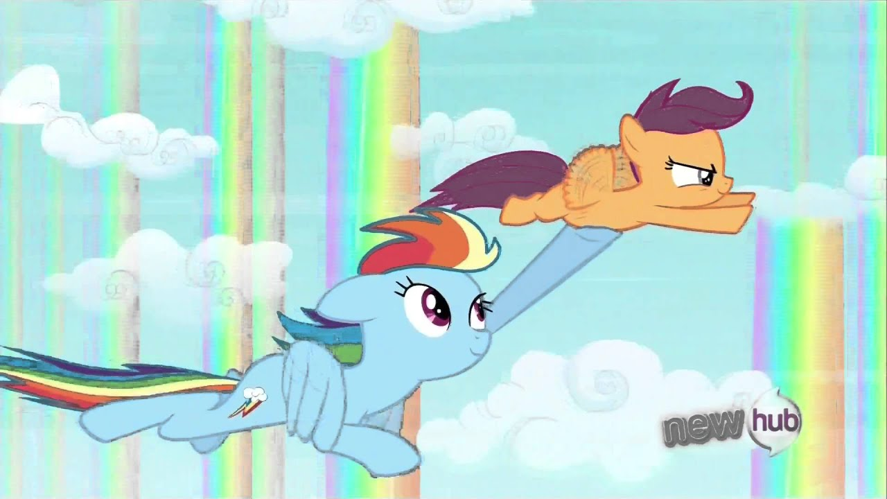 Scootaloo Is Not A Chicken Right S03e06 Youtube Scootaloo is a chicken is a common phrase from the episode stare master aired in 2011 in which scootaloo is called out for being afraid while looking for fluttershy's escaped chicken. youtube