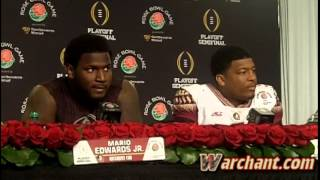 Rose Bowl post-game press conference: Jimbo Fisher, Jameis Winston & Mario Edwards Jr.