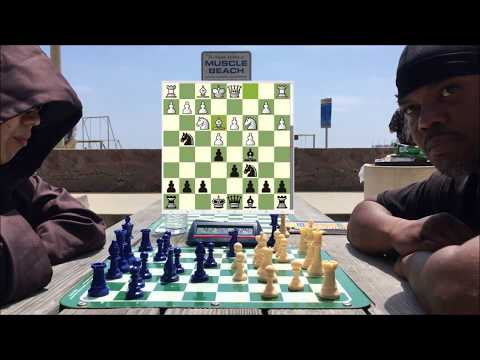 """Is This Guy HUSTLING Me? """"I've Come to See the Wizard"""" - Santa Monica Chess Park Hustling!"""