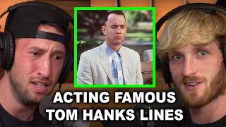 THE BOYS REENACT FAMOUS TOM HANKS LINES