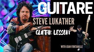 Steve Lukather Guitar Lesson - Guitare Xtreme Magazine #54