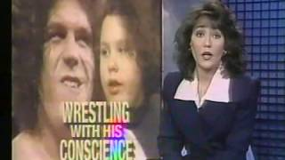 Andre the Giant's Daughter news story early 90s