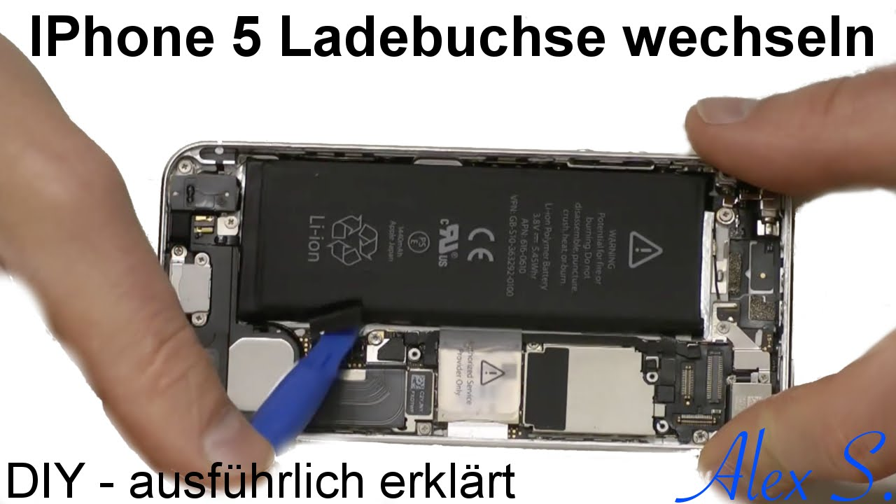 iphone 5 ladebuchse usb lightning mikro wechseln reparieren anleitung deutsch youtube. Black Bedroom Furniture Sets. Home Design Ideas