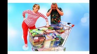 Квест Челлендж для родителей Беременная Мама в МАГАЗИНЕ Николь и Алиса  Challenge Pregnant Mom(, 2017-06-06T06:00:01.000Z)