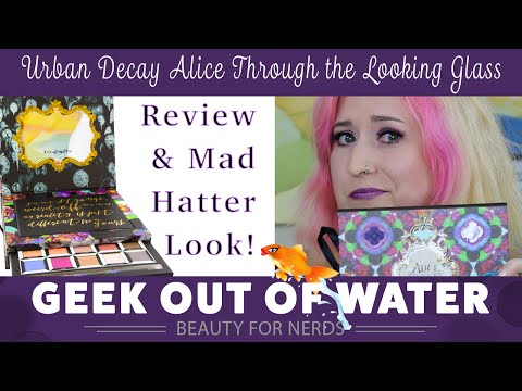 UD Alice Through the Looking Glass Palette & Eye Look!