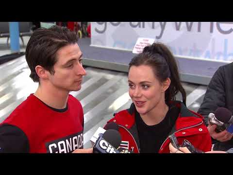 """We love working together"" Virtue & Moir on what comes next for them"