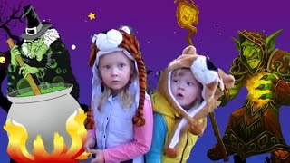 Баба ЯГА против Гоблина! Страшная сказка! Не ходите дети одни в лес!