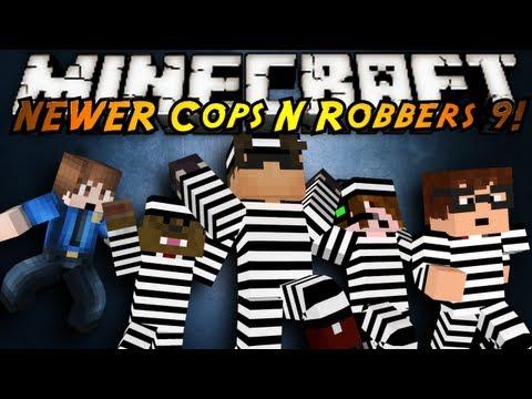 Minecraft Mini-Game : COPS N ROBBERS 3.0 ROUND NINE!